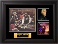 "Kenny Rogers Autographed LP ""The Gambler"" - Zion Graphic Collectibles"
