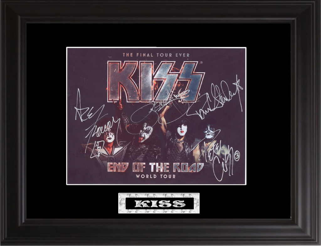 Kiss Autographed Photo - Zion Graphic Collectibles
