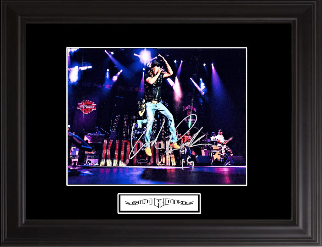 Kid Rock Autographed Photo - Zion Graphic Collectibles