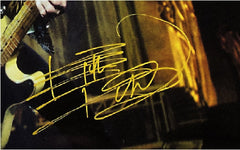Keith Richards Autographed poster