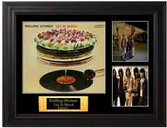Rolling Stones Autographed Let It Bleed LP - Zion Graphic Collectibles