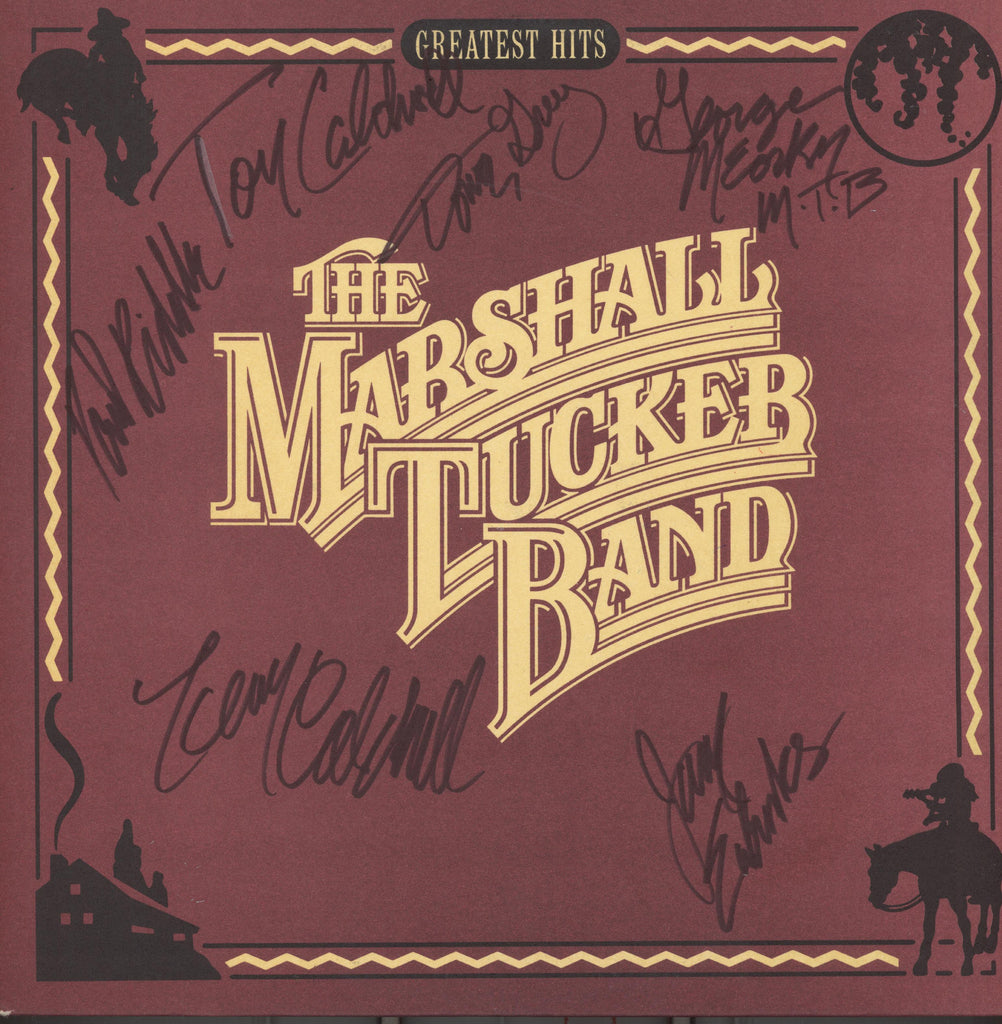 Marshall Tucker Band Autographed lp