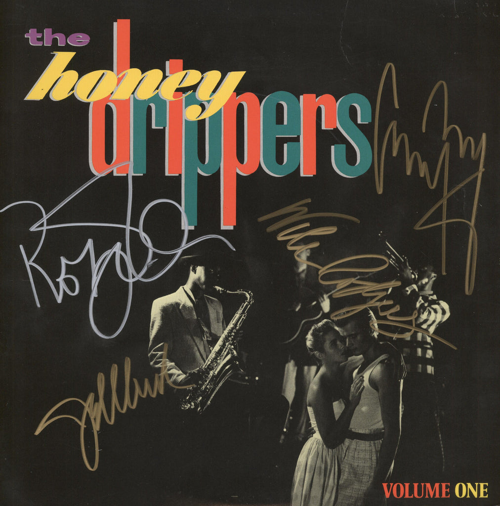Honey Drippers Autographed lp - Zion Graphic Collectibles