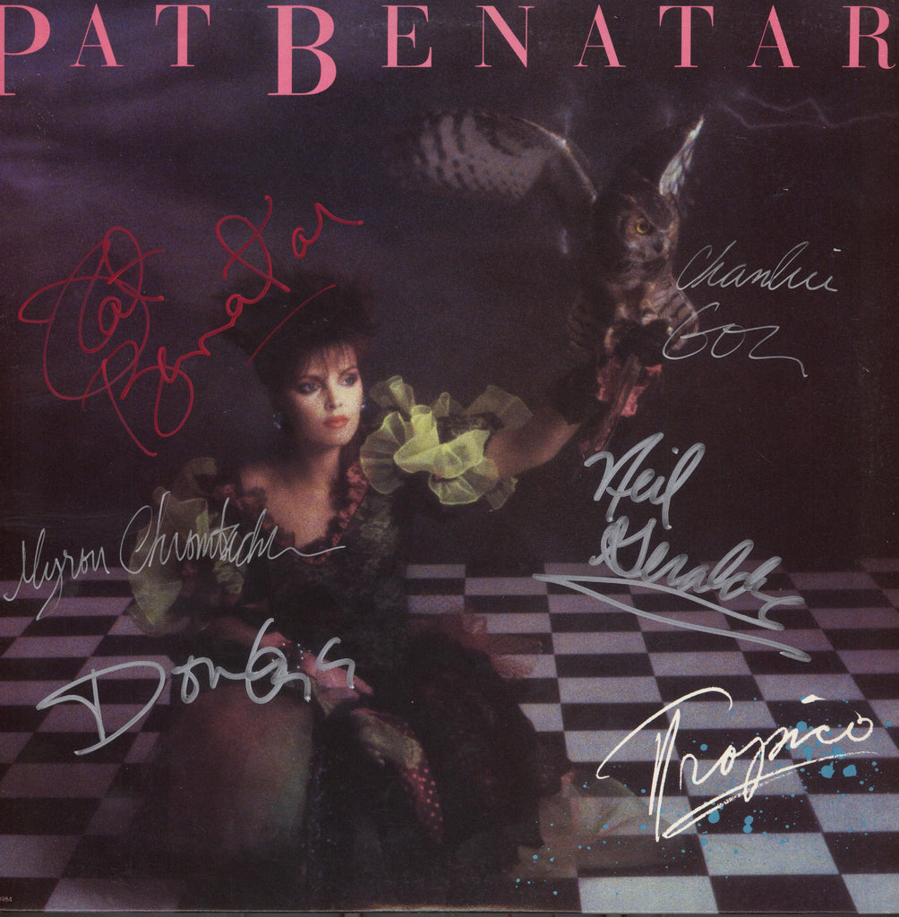Pat Benatar Band Signed Tropico Album - Zion Graphic Collectibles