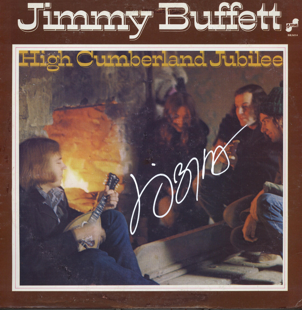 Jimmy Buffett Autographed lp