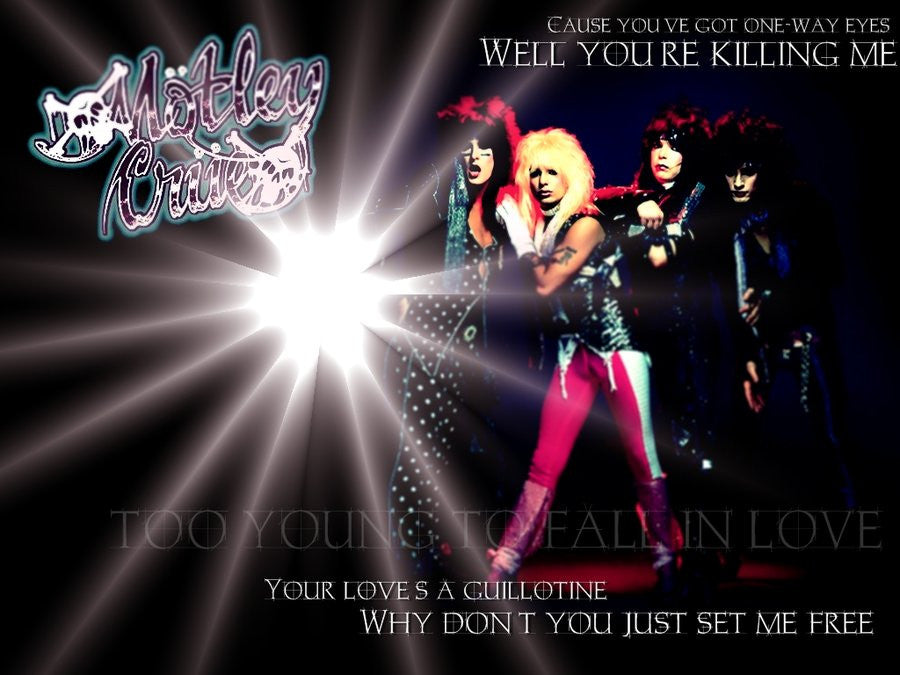 Motley Crue Classic Poster - Zion Graphic Collectibles