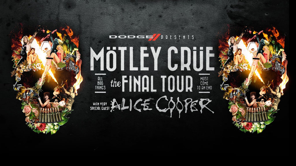 Motley Crue Poster - Zion Graphic Collectibles