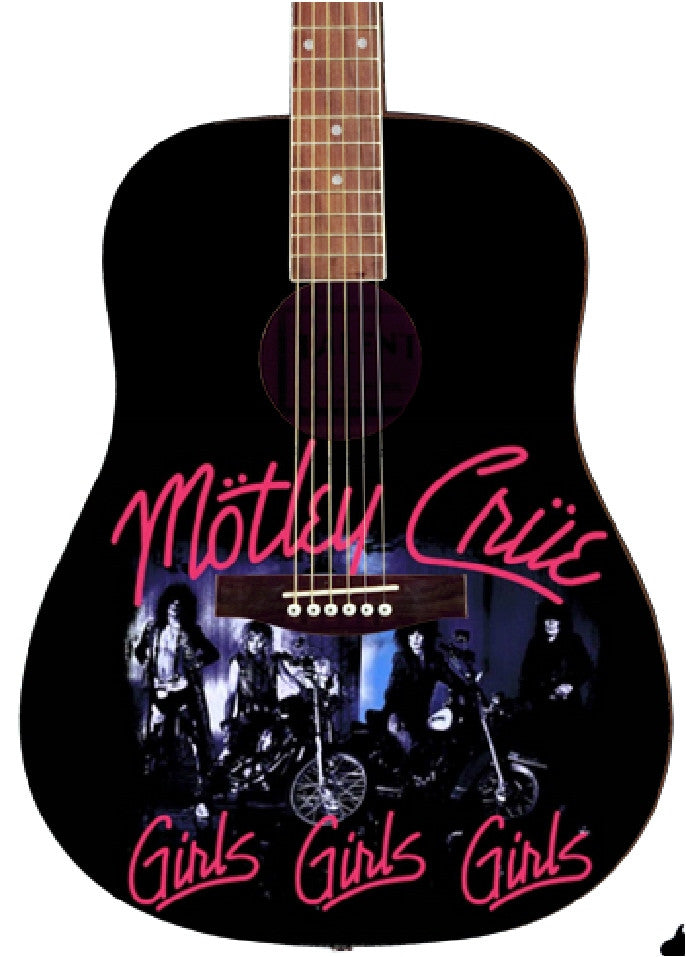 Motley Crue Custom Guitar - Zion Graphic Collectibles
