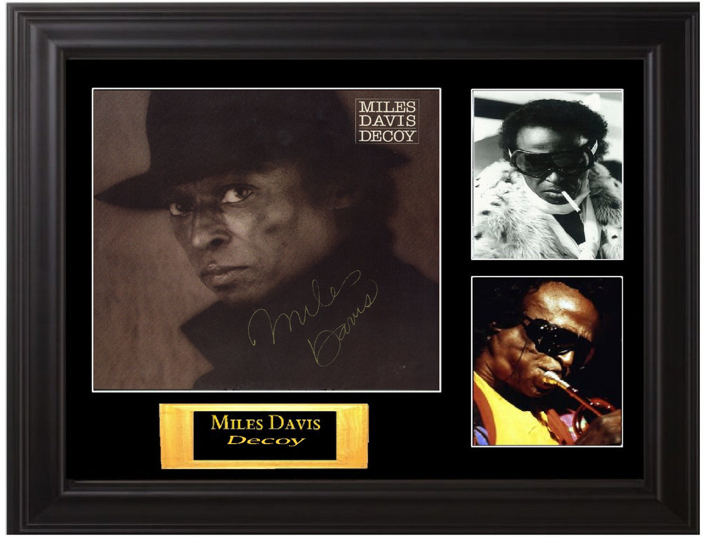 Miles Davis Autographed Album - Zion Graphic Collectibles