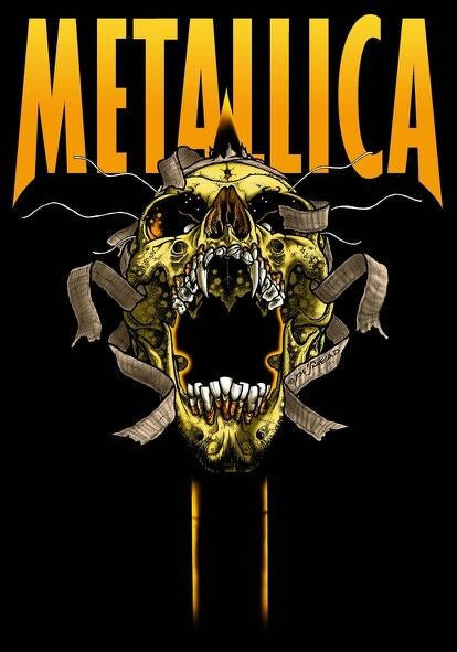 Metallica Classic Poster - Zion Graphic Collectibles