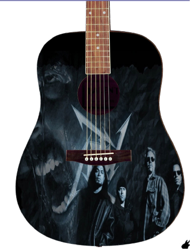 Metallica Custom Guitar - Zion Graphic Collectibles