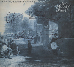 Moody blues Autographed LP - Zion Graphic Collectibles