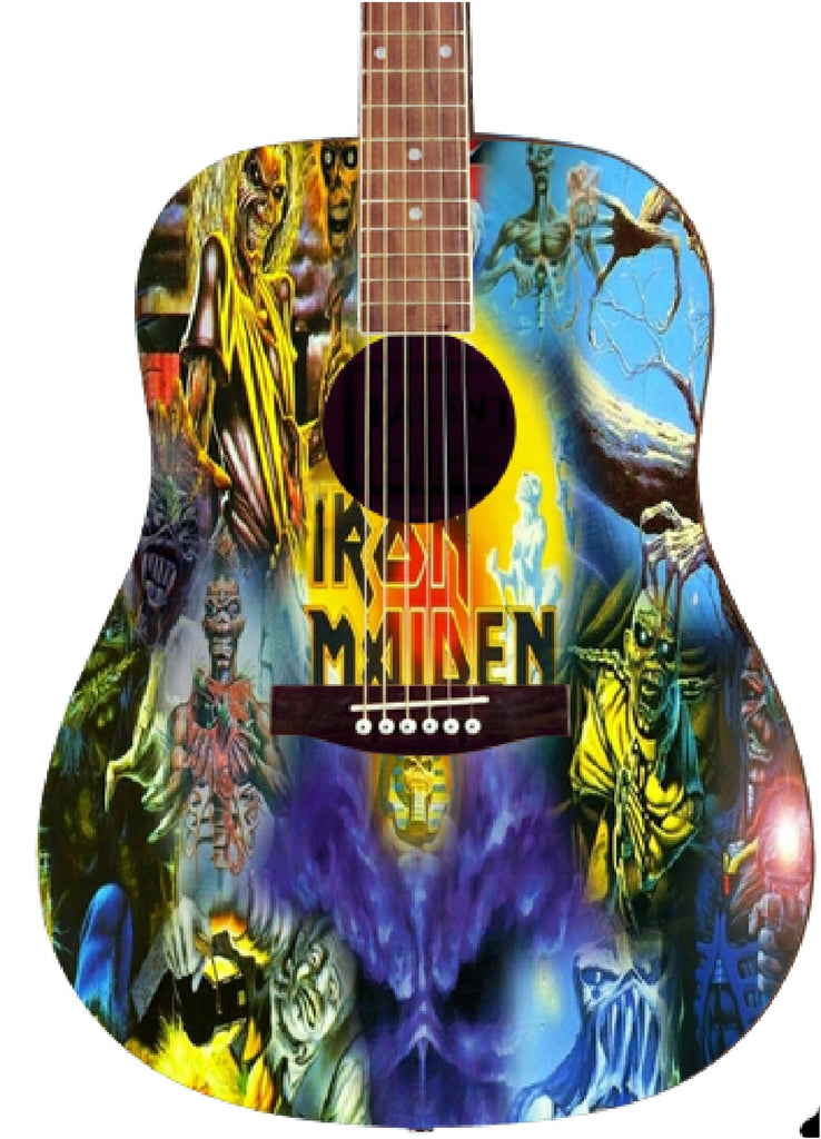Iron Maiden Custom Guitar - Zion Graphic Collectibles