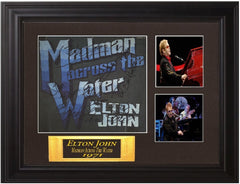 Elton John Autographed Lp Madman Across the Water - Zion Graphic Collectibles
