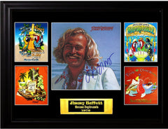 Jimmy Buffett Autographed LP - Zion Graphic Collectibles