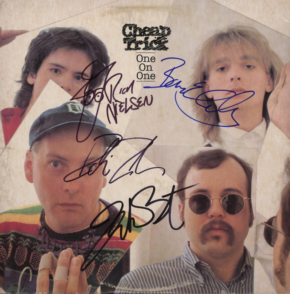 Cheap Trick Autographed lp