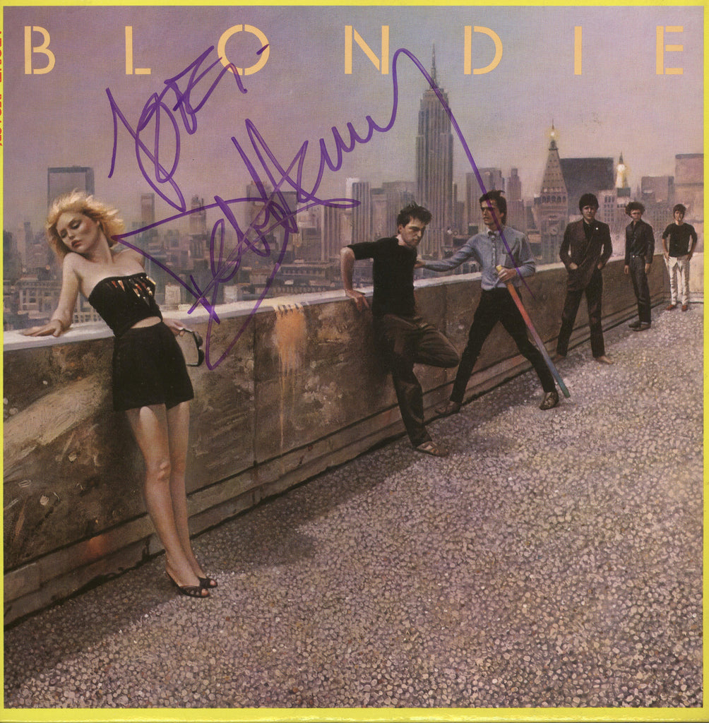 Blondie Autographed lp