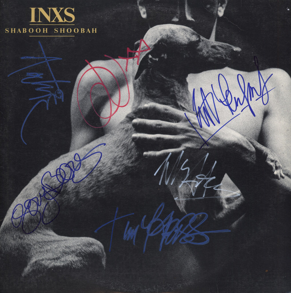 Inxs Autographed lp - Zion Graphic Collectibles