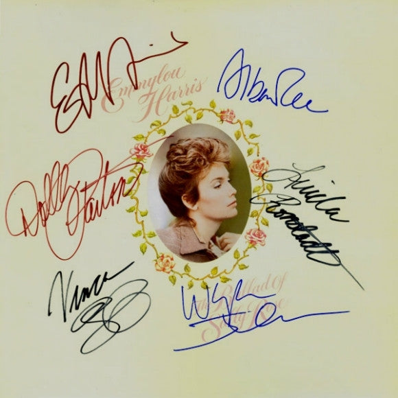 Emmylou Harris Band Signed The Ballad Of Sally Rose LP