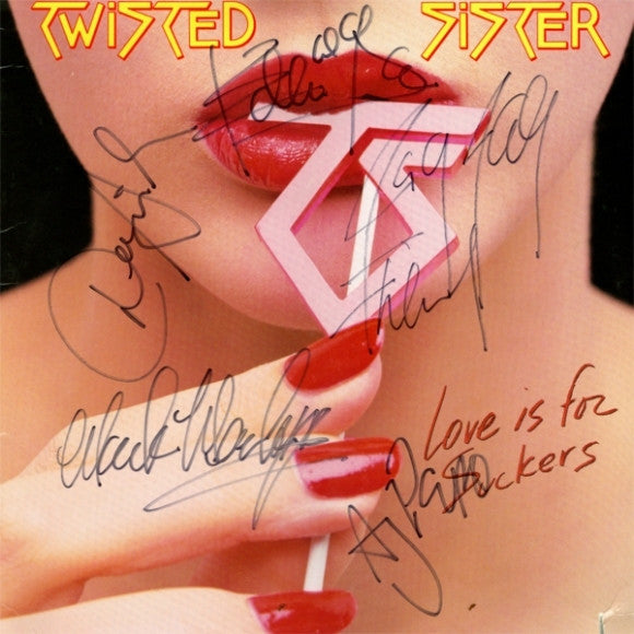 Twisted Sister Band Signed Love Is For Suckers Album - Zion Graphic Collectibles
