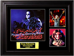 Ozzy Osbourne Autographed Mama I'm Coming Home Album - Zion Graphic Collectibles