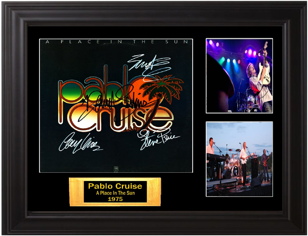 Pablo Cruise Band Signed A Place In The Sun Album - Zion Graphic Collectibles
