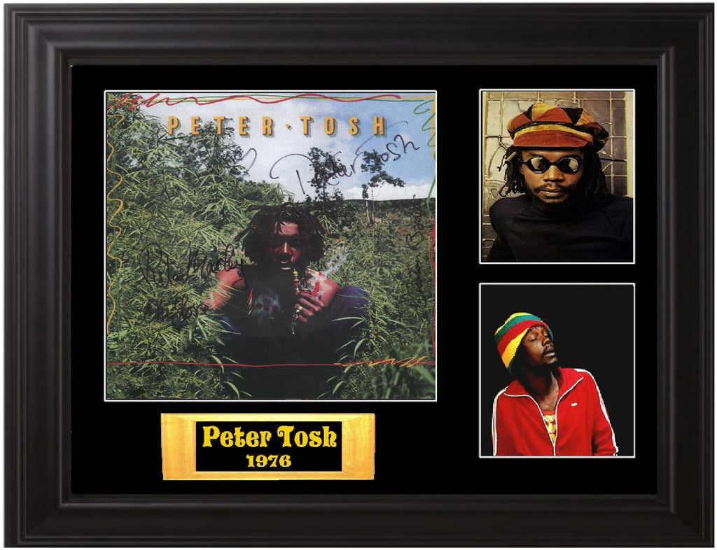 Peter Tosh Autographed  LP - Zion Graphic Collectibles