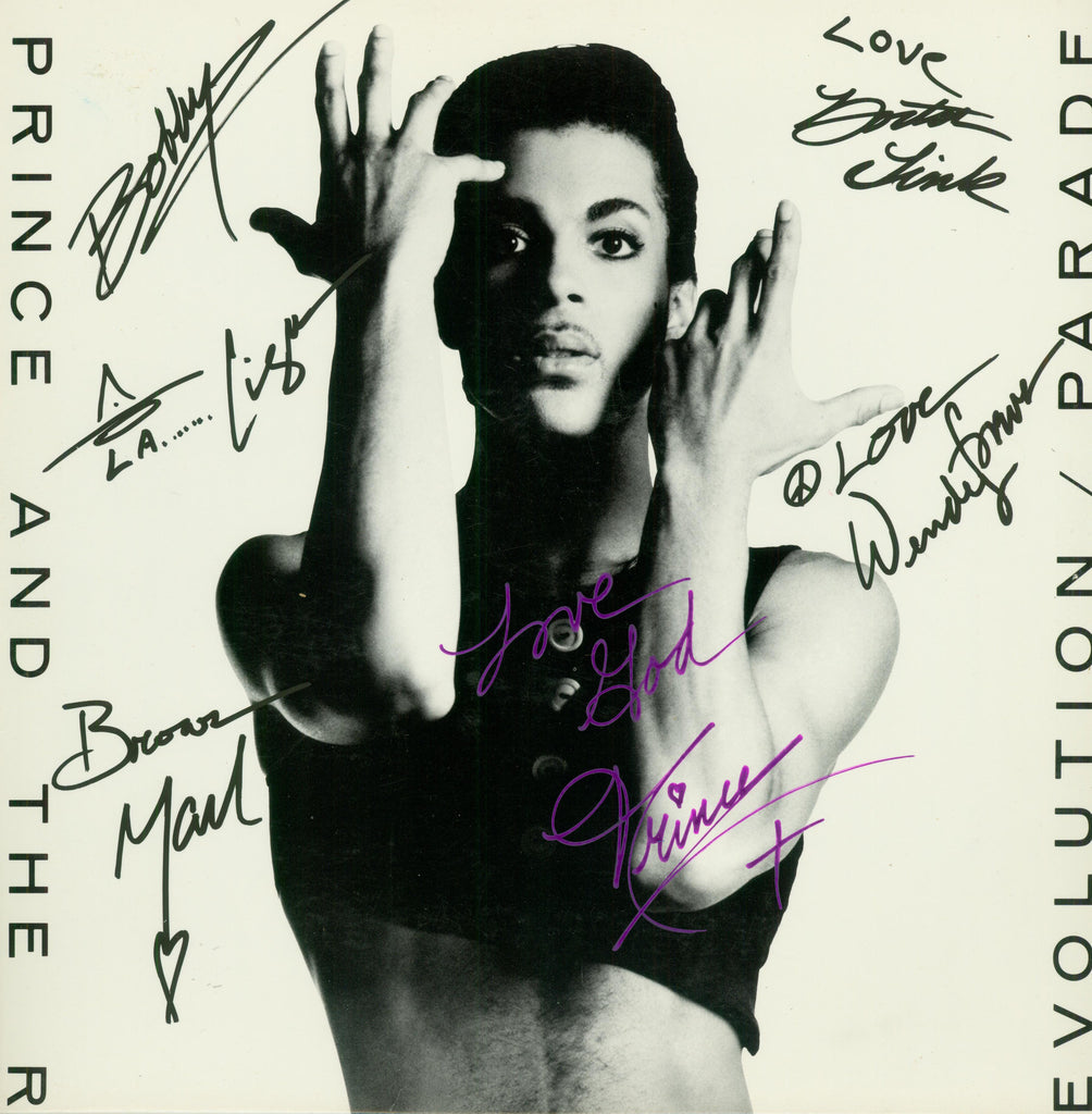 Prince Autographed LP - Zion Graphic Collectibles