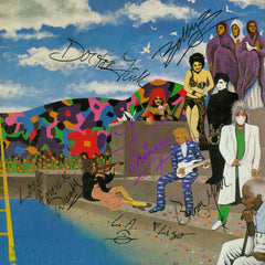 "Prince and the Revolution Autographed Lp ""Around the World in a Day"""