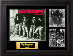 "The Ramones Autographed Lp ""Rocket to Russia"" - Zion Graphic Collectibles"