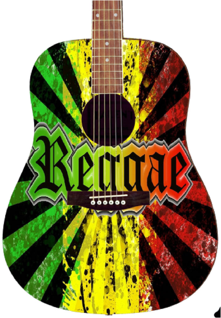 Rasta Custom Guitar