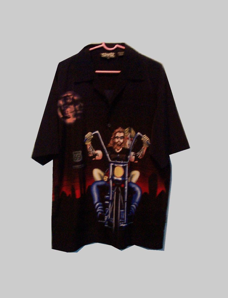 Dragonfly Co. Biker Lounge Shirt - Zion Graphic Collectibles