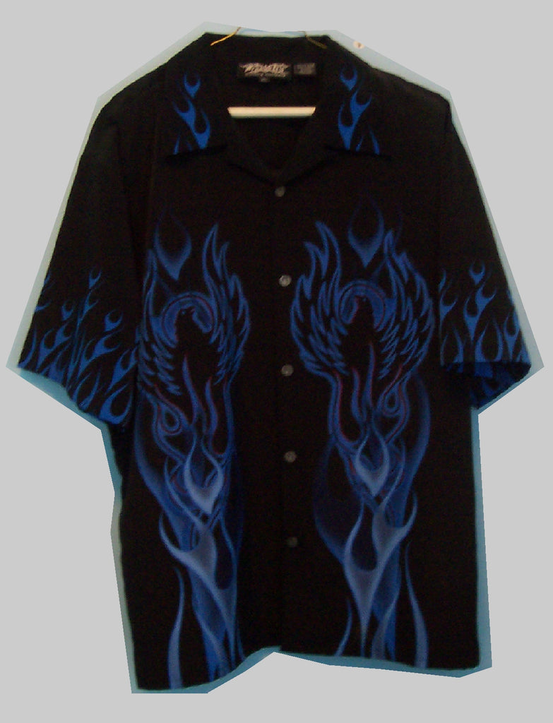Dragonfly Flame Shirt - Zion Graphic Collectibles