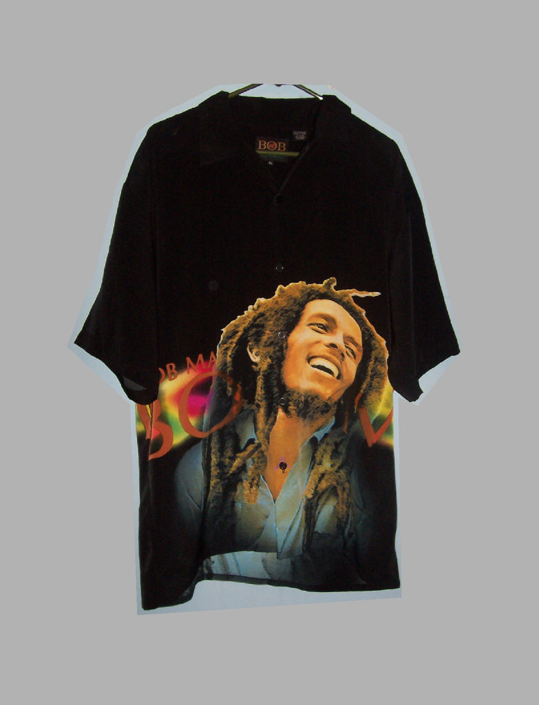 Bob Marley Dragonfly Shirt - Zion Graphic Collectibles