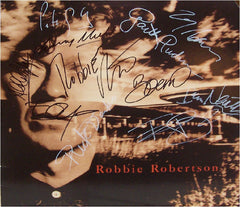 Robbie Robertson/ U2 The Band And Friends Signed LP