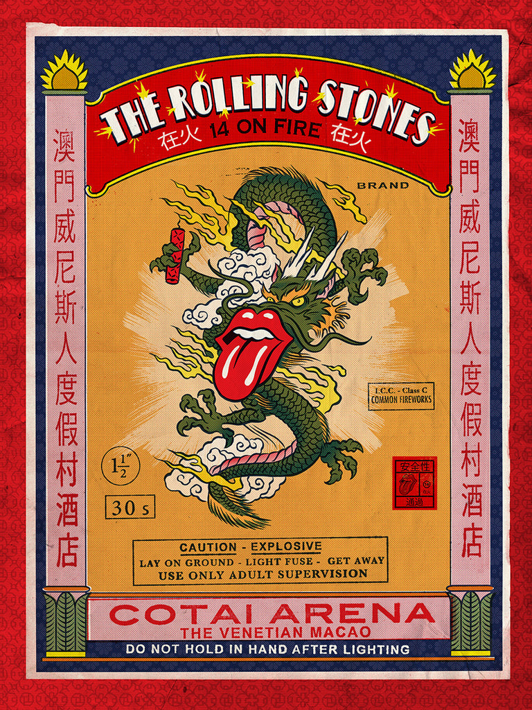 Rolling Stones Classic Poster - Zion Graphic Collectibles