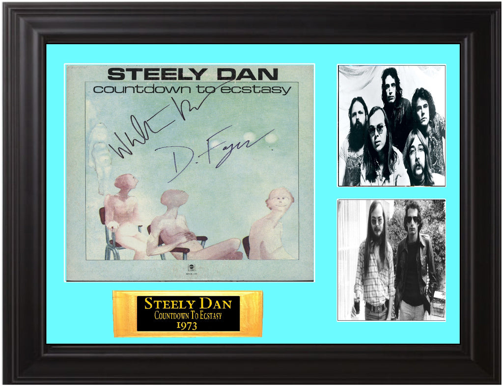 Steely Dan Autographed Countdown To Ecstasy LP - Zion Graphic Collectibles