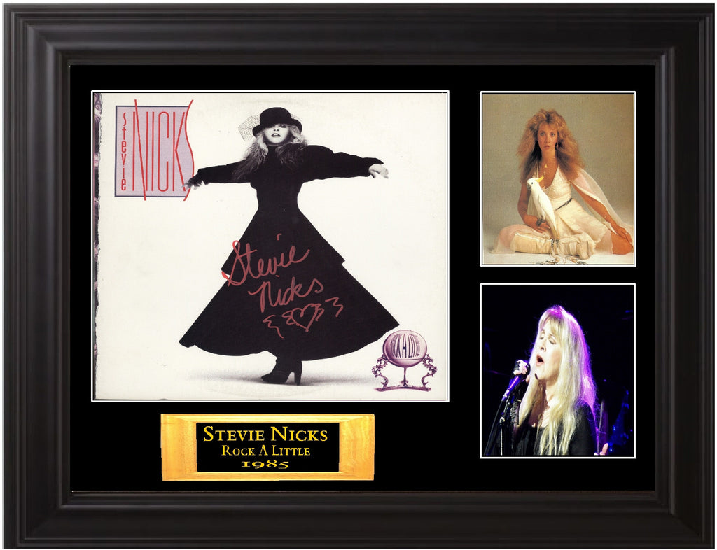 Stevie Nicks  Signed Rock A Little Album - Zion Graphic Collectibles