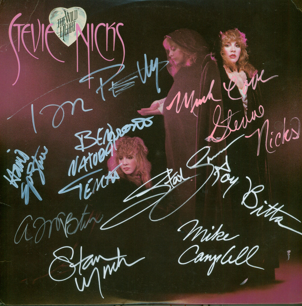 Stevie Nicks Autographed lp - Zion Graphic Collectibles
