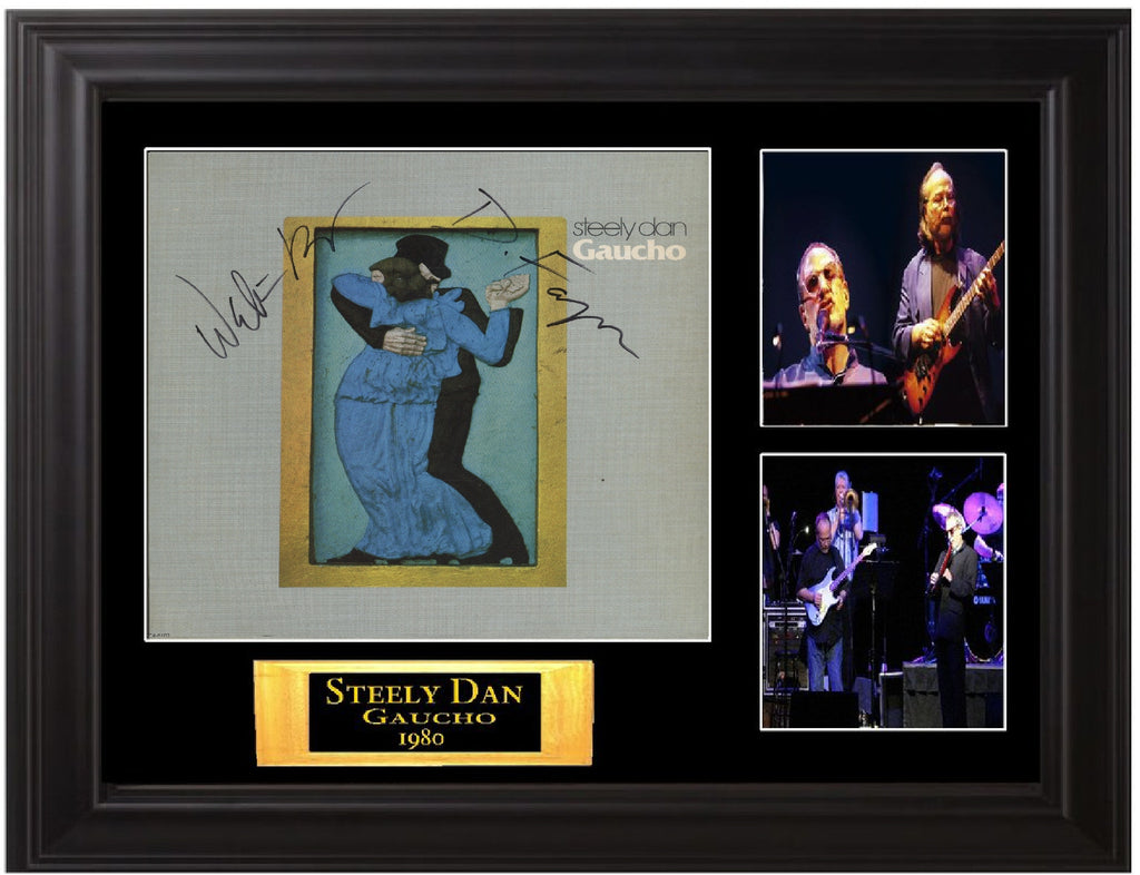 Steely Dan Autographed Gaucho LP - Zion Graphic Collectibles