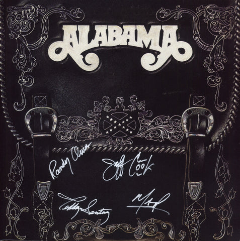 Alabama Autographed lp