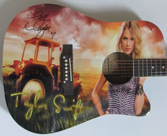 Taylor Swift Autographed Guitar - Zion Graphic Collectibles