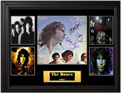 The Doors Band Signed LP - Zion Graphic Collectibles