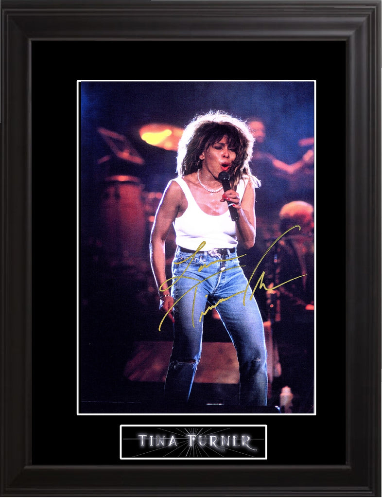 Tina Turner Autographed Photo - Zion Graphic Collectibles