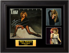 Tina Turner Autographed LP - Zion Graphic Collectibles