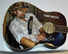 Toby Keith Autographed Guitar - Zion Graphic Collectibles