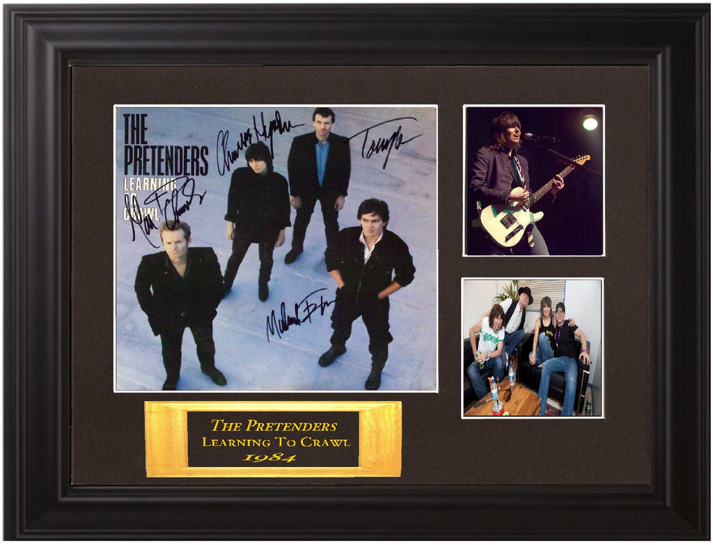The Pretenders Band Signed  Album