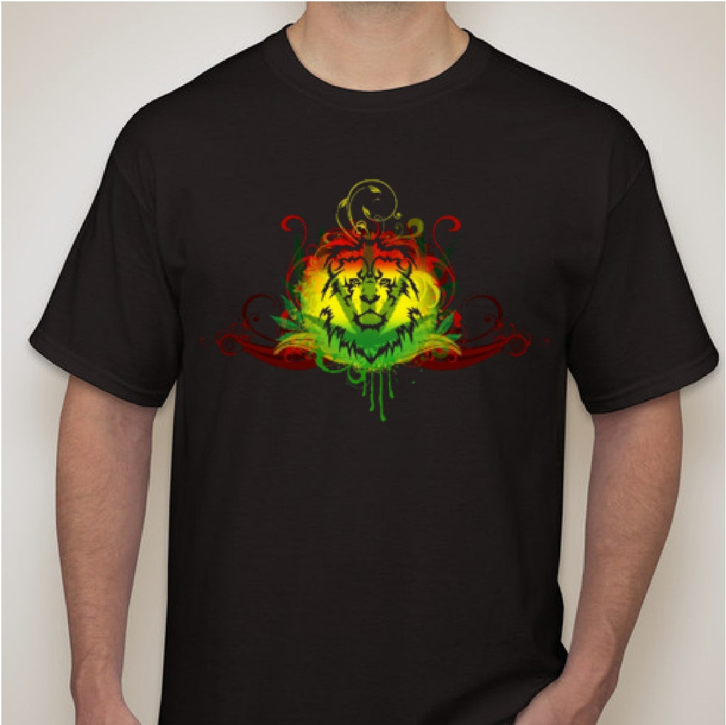 Rasta Custom T Shirt - Zion Graphic Collectibles