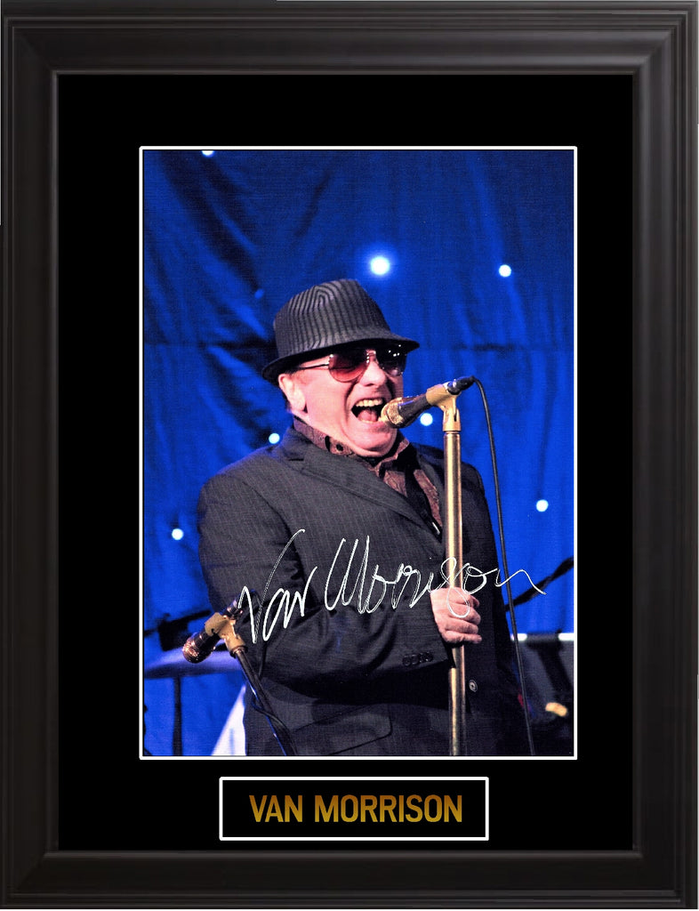 Van Morrison Autographed Photo - Zion Graphic Collectibles