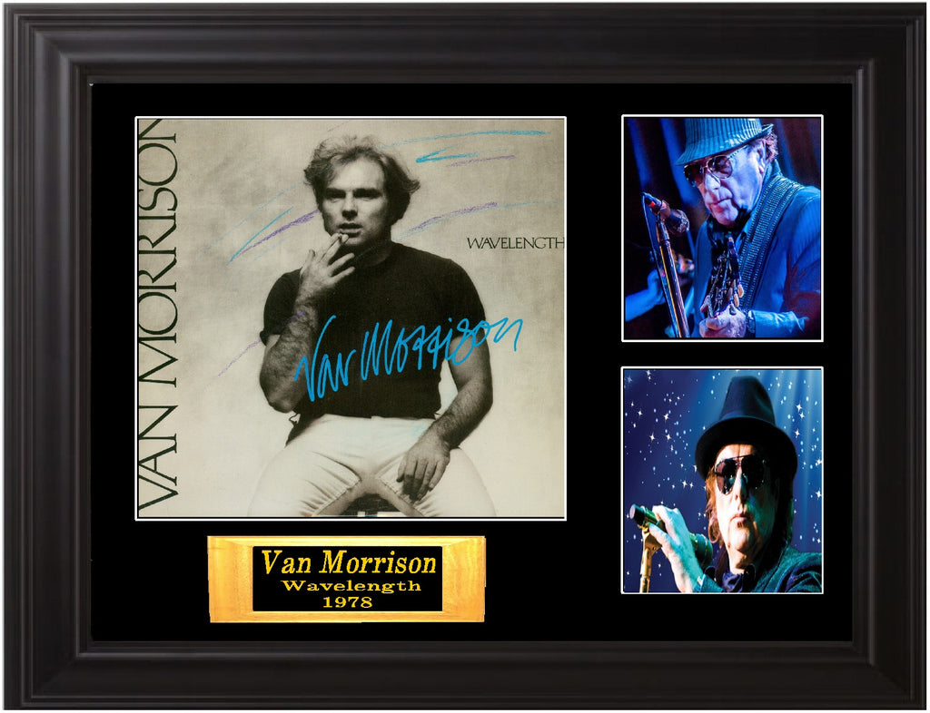 Van Morrison Signed Album